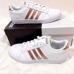 New With Tags & Box Adidas Rose Gold Baseline